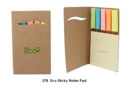 S78  Eco Sticky Notes Pad