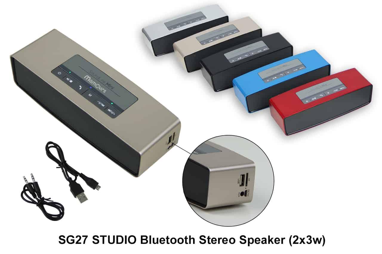 Corporate Door Gift: Studio Bluetooth Stereo Speaker (2 X 3w)